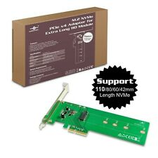 Vantec M.2 NVMe PCIe X4 Adapter For Extra Long 110 Module