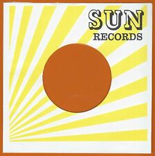 SUN RECORDS (yellow rays) REPRODUCTION RECORD COMPANY SLEEVES - (pack of 10)