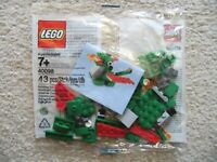 LEGO Monthly Mini Build - Rare - 40098 Dragon May 14 - New & Sealed