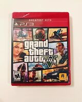 Grand Theft Auto V GTA 5 Sony PlayStation 3 2013 PS3 Brand New Sealed