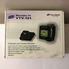 "NEW NHJ 1.5"" TFT LCD COLOR PORTABLE WEARABLE WRISTWATCH TV TELEVISION VTV-101"