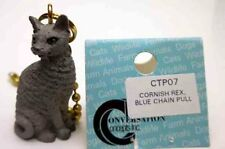 Cornish Rex, Blue Cat Chain Pull Conv. Concepts, Item Ctp07