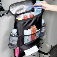 Car Seat Back Multi-Pocket Storage Bag Tidy Organizer Cool Travel Holder Bag