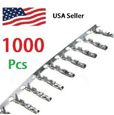 1000pcs 2.54mm Dupont Jumper Wire Cable Housing Female Pin Connector Terminal