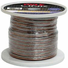 New Pyle PSC12500 12 Gauge 500 ft. Spool of High Quality Speaker Zip Wire
