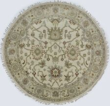 Muted Rare Traditional Oushak Chobi New 6X6 Round Oriental Home Décor Area Rug