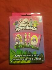 Hatchimals Jumbo Playing Cards BRAND NEW SHIP FAST !