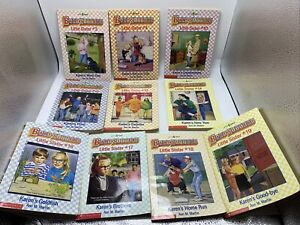 Lot of 10 The Baby-sitters Club Little Sister by Ann M. Martin Books