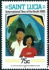 SAINT LUCIA - 1985 - International Youth Year - MNH Stamp - Sc. #793