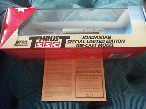 Lledo Thrust SSC Jordanian Special Limited Edition Diecast Model - New in box