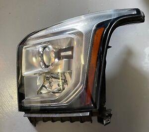 Pair of 2015 GMC Yukon Headlights OEM Used