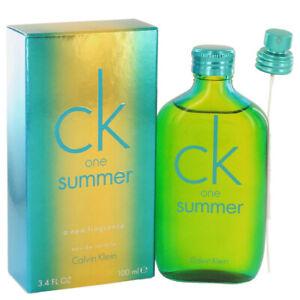CK ONE SUMMER 2014 * Calvin Klein 3.4 oz / 100 ml EDT Unisex Perfume Spray
