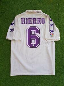 real madrid home 1995 1996  hierro shirt jersey camiseta magila