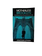 Lethem Jonathan-Motherless Brooklyn Motion Picture/Tv BOOK NEW