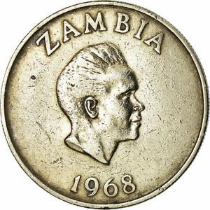 [#679359] Coin, Zambia, 10 Ngwee, 1968, British Royal Mint, EF(40-45)