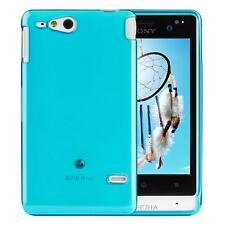 Sony xperia go ST27i Silicon TPU Phone Case Cover Blue