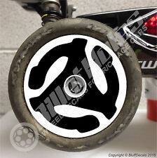 BilletHoles R/C Buggy 2.2 Wheel Decals RC Car Wheel Skins 1/10 Graphic Stickers