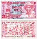 Guinea-Bissau 50 Pesos 1990 P-10 Banknotes UNC