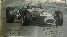 *  Sir Jack Brabham Formula 1 Formel 1 1966 - signed picture - foto - *