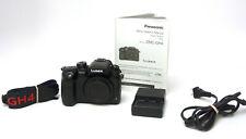Panasonic Lumix GH4 16MP Professional 4K Mirrorless Used Ex 3,612 Shot Count