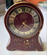 Vintage Jaeger LeCoultre Musical Alarm Clock Swiss Music Box and Movement WORKS!