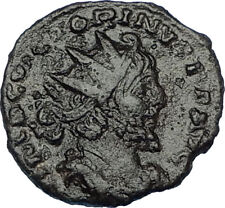 VICTORINUS 268AD Authentic Ancient Roman FRANCE Area Empire Coin SALUS i65811