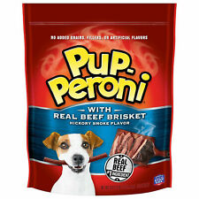 Pup-Peroni Dog Treats with Real Beef Brisket, Hickory Smoked Flavor 50 oz.