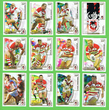 2002  ST GEORGE ILLAWARRA DRAGONS  SELECT NRL CHALLENGE RUGBY LEAGUE CARDS