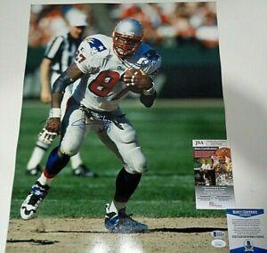 Ben Coates New England Patriots Autographed signed 16x20 photo coa Beckett JSA..