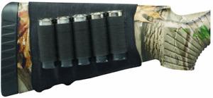 Hunters Specialties unisex-adult Butt Stock Shotgun Shell Holder, Black
