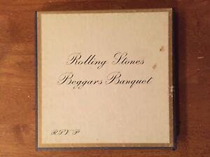 Rolling Stones - Beggars Banquet - 3 3/4 3.75 ips Reel to Reel Tape Play Tested