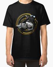 Laverda Jota RGS 1000 1982 engine Vintage Motorcycle T-Shirt INISHED Productions