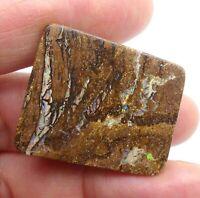 Australian Opal, Koroit Solid, Natural Polished Gem, Loose Stone, Lapidary 10324