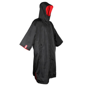Waterproof Sport Windbreaker Jacket Anorak Winter Changing Robe Poncho Women Men