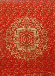 Indian Mandala Bohemian Dorm Psychedelic Pure Cotton Tapestry Wall Hanging