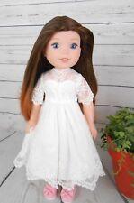"""8-9"""" Custom Doll Wig fits Dolfie, bjd, Wellie Wisher...""""Lil' Dark Fade"""" bn1"""