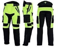 Pantaloni neri in cordura per motociclista