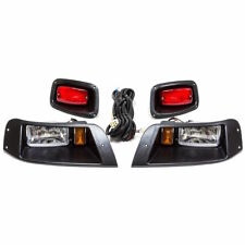 EZGO TXT Golf Cart Basic Adjustable Light Kit w/ LED Tail Lights | 1996-2013