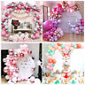 Pink Rose Gold Balloon Arch Garland Kit Girl Baby Shower Birthday Party Decor
