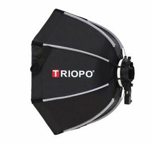 Triopo KX65 65cm Speedlite Octagon Outdoor Flash Soft Box for Godox V1 Speedlite