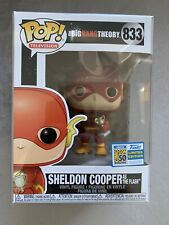 SDCC 2019 Funko Pop The Big Bang Theory Sheldon Cooper As The Flash SDCC STICKER