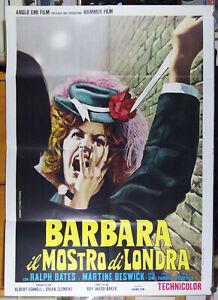 manifesto 2F film DR JEKYLL & SISTER HYDE Roy Ward Baker Ralph Bates 1973