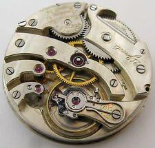 Quality Agassiz Pocket Watch Movement for parts .. HC 43.1 mm Ryland & Rankin VA