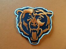 CHICAGO BEARS NFL EMBRODIERED IRON ON 3-1/8 X 3-1/8 PATCH