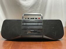 Vintage Sony Radio Cassette Corder Boombox Cfs-B15 Tape Player Deck