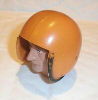 Vintage Action man Royal Marine explorer orange helmet 1/6th scale toy accessory