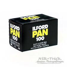 Ilford Pan 100 B&W Film ~ 35mm 36 Exposures ~ Freshest UK Stock