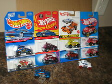 Hot Wheels Lot of 10 VW Baja Beetle Bug Variation Classics Redline Target Stunt