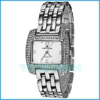 Zierliche Armbanduhr JORDAN KERR nickelfrei Damen Swarovski Steine