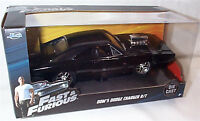 Fast & Furious Doms Dodge Charger R/T 1-24 Diecast model Scale New Jada 97059 BG